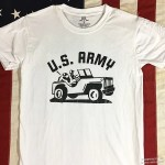 WWII Jeep T shirt US Army