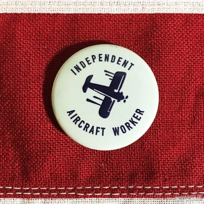 WWII Aircraft Worker Pin, WW2