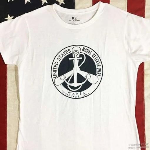WWII Waves T shirt, WW@