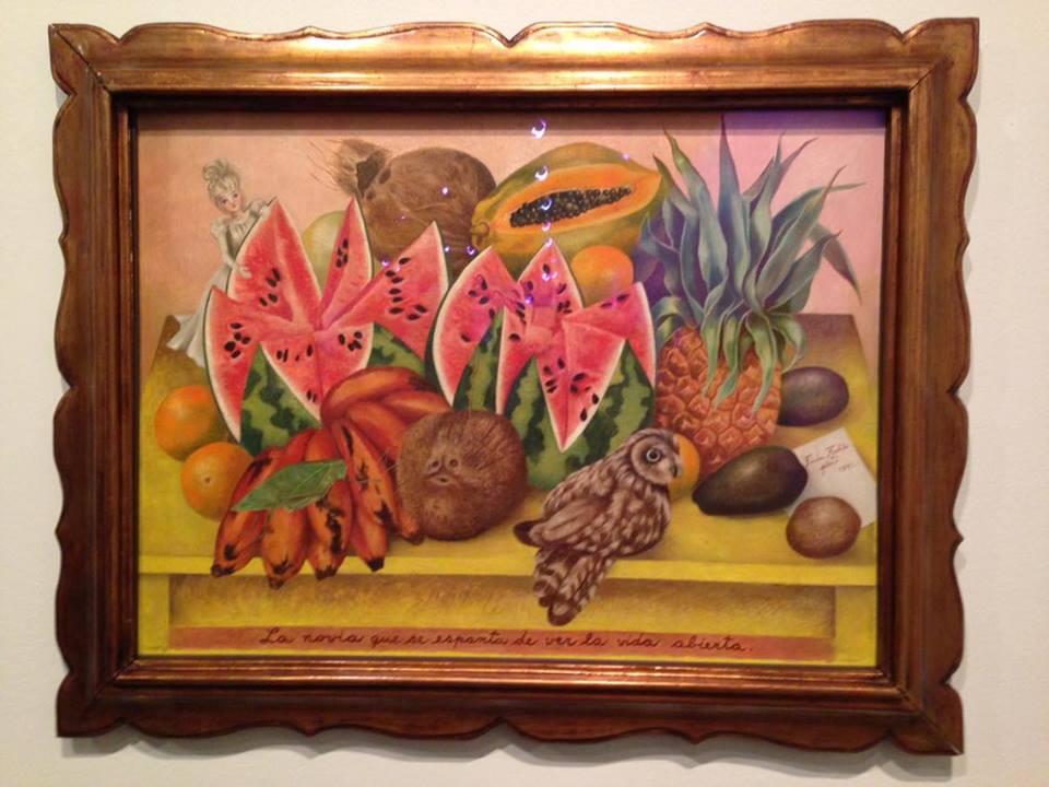 Frida Kahlo, La Novia que se Espanta de Ver la Vida Abierta