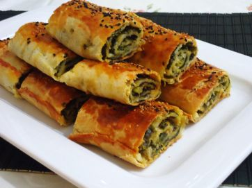 ıspanaklı-rulo-börek