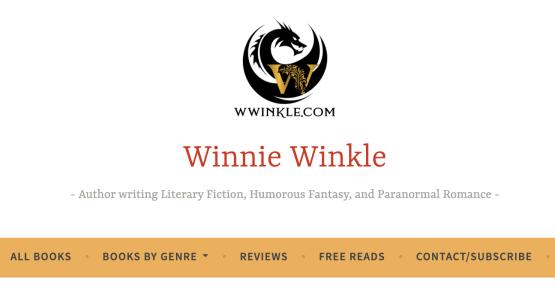 Screen shot of the all books tab on wwinkle.com by Winnie Winkle