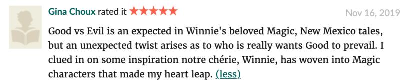 Harpy Gumbo by Winnie Winkle review 2019