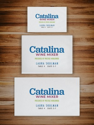 Personalized packaging for unboxing experiences the Catalina Wine Mixer