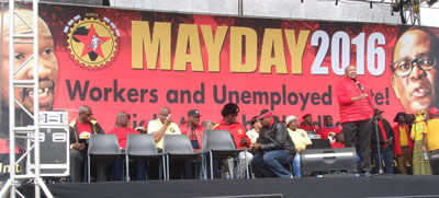 You are currently viewing First May Day Rally of new labour federation