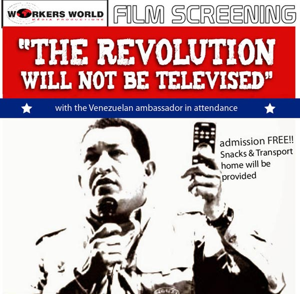 You are currently viewing What about Venezuela? Film screening 25 May