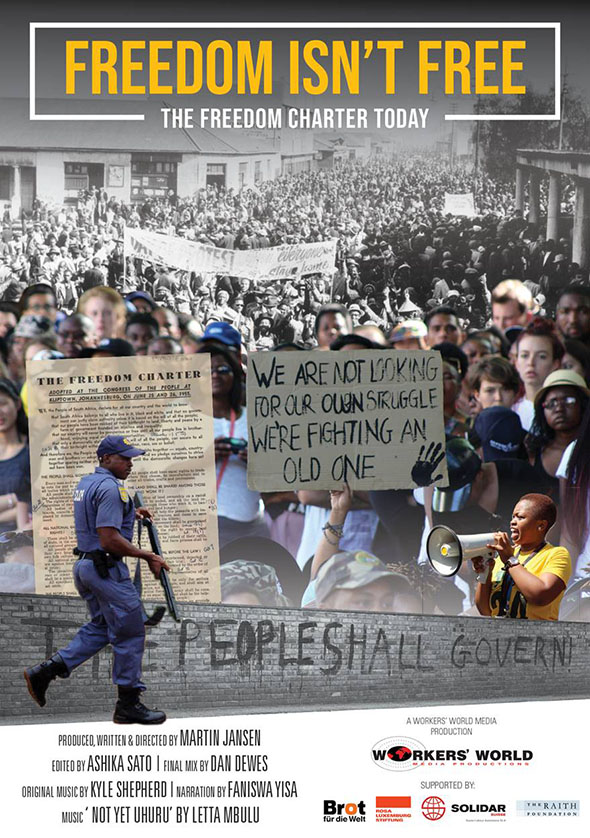 """You are currently viewing """"Freedom Isn't Free – The Freedom Charter Today"""" : Anniversary screenings"""