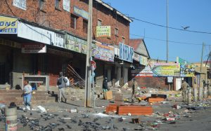 Read more about the article Alex radio station trashed and looted
