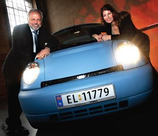 The Electrifying Th!nk Car