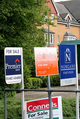 For Sale - To Let signs