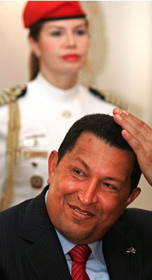 Chavez in Russia