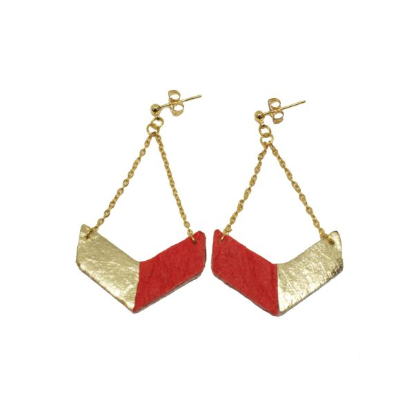 Ethical Christmas Gift Ideas - victory earrings