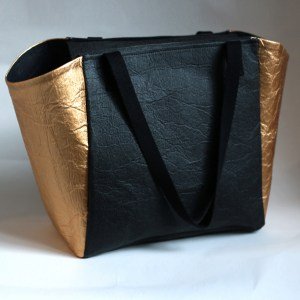 Tote Bag Piñatex Black Gold Leymah