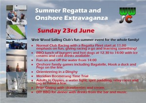 Summer Regatta and Onshore Extravaganza