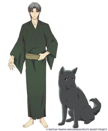 Fruits Basket 2019 Character Visual - Shigure Sohma