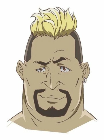 Carole and Tuesday Character Visual - Gus