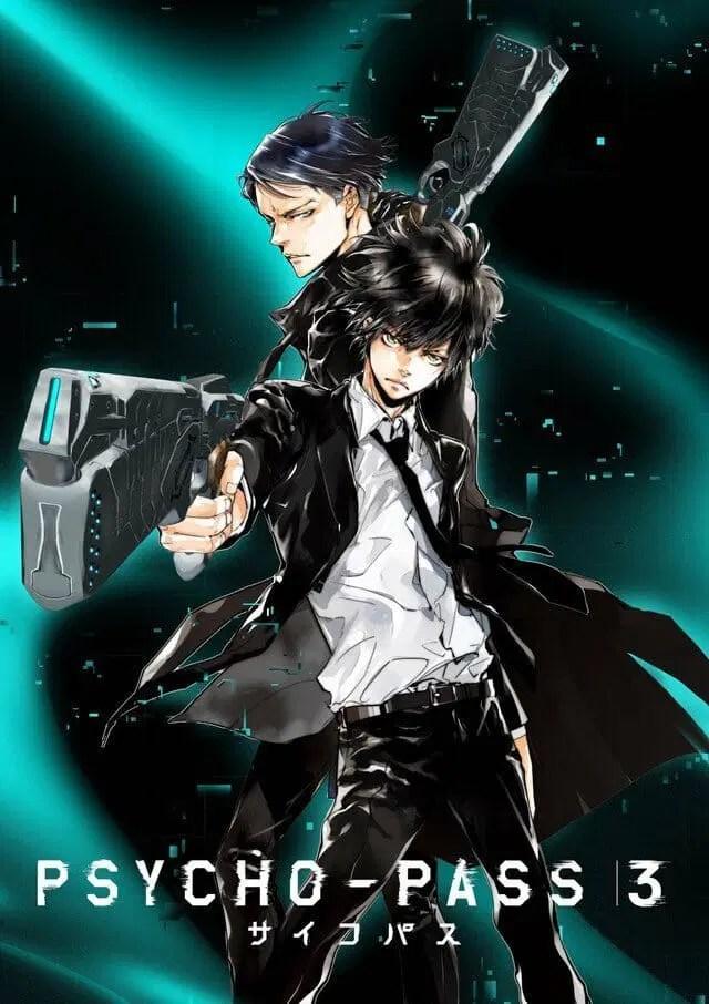 Psycho-Pass 3 Anime Visual