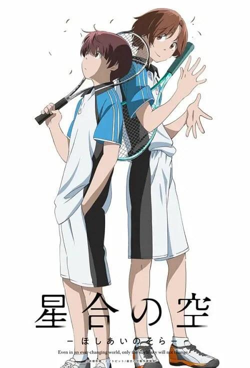 Hoshiai no Sora Teaesr Visual - Jun Ameno & Rintaro Futsu