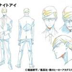My Hero Academia Season 4 Character Visual - Sir Knight Eye