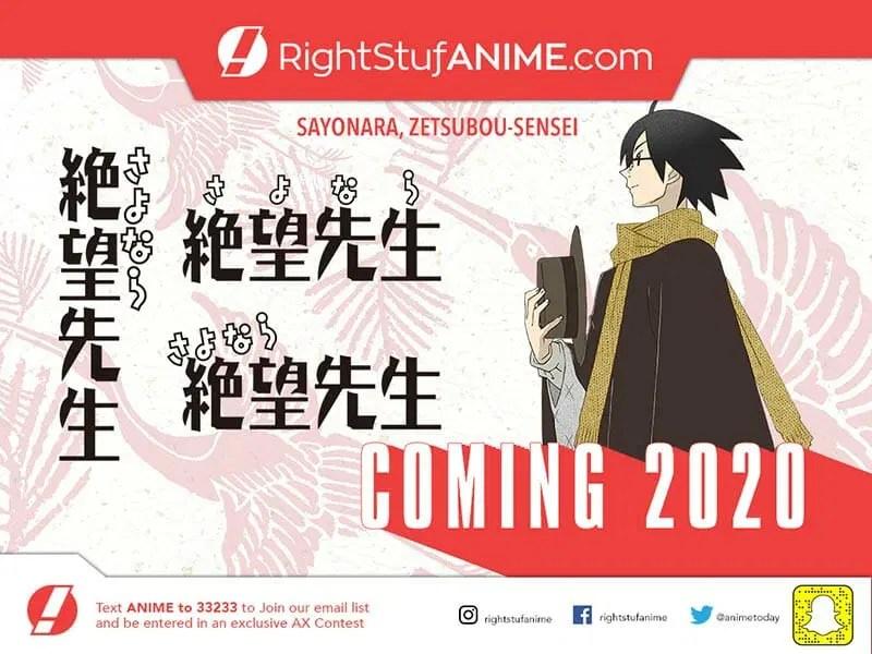 Sayonara Zetsubou-sensei Anime Visual