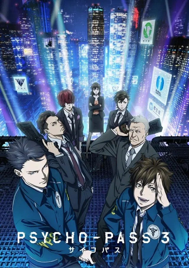 Psycho Pass 3 Gets Second Trailer New Visual Amazon Global Streaming Anime Feminist