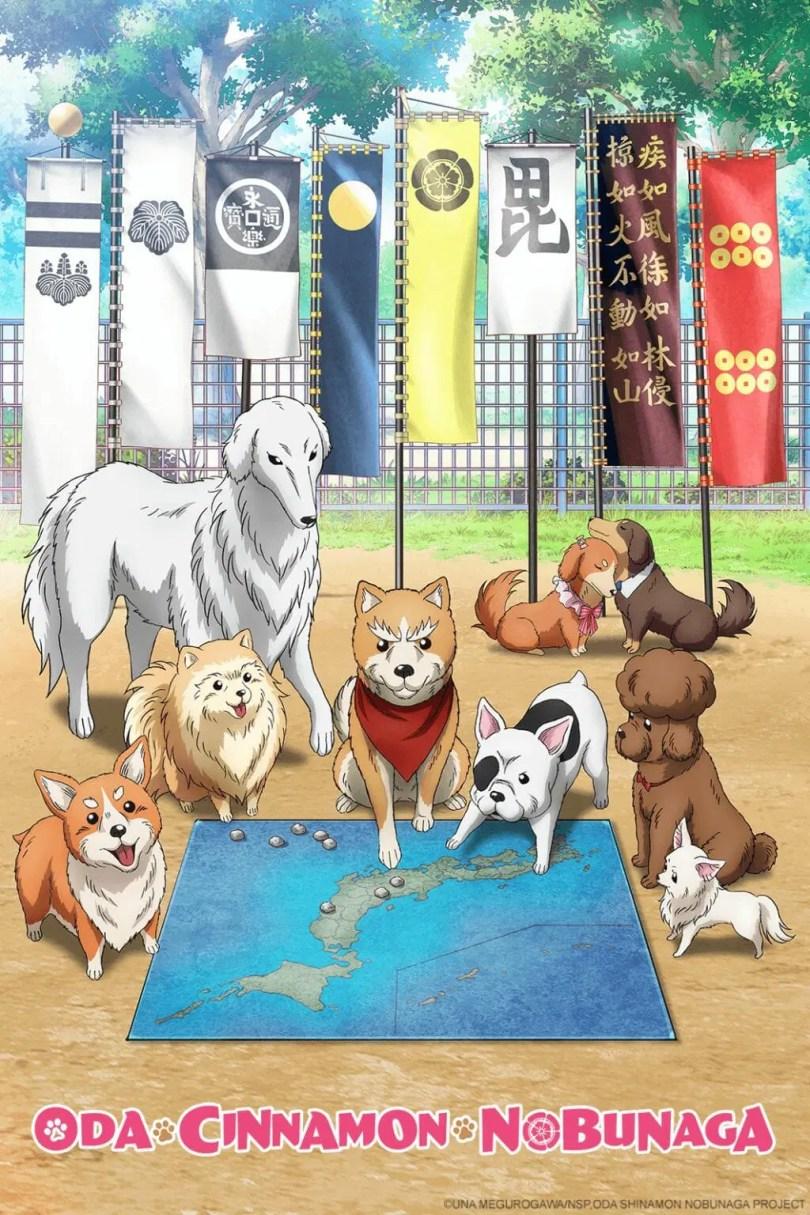 Oda Cinnamon Nobunaga Anime Visual
