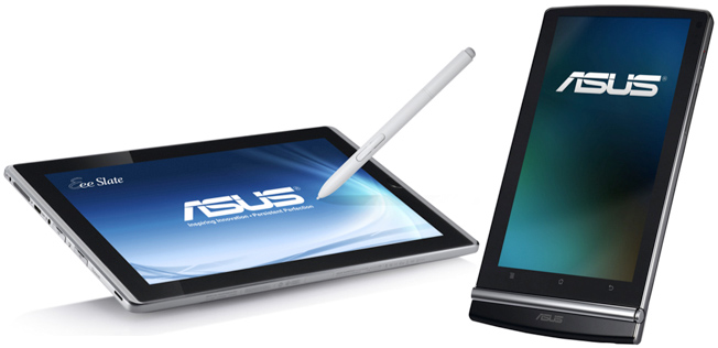 Asus Tablets (from: bgr.com)