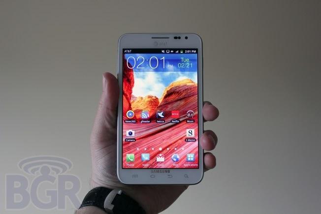 Samsung Galaxy Sales 2012