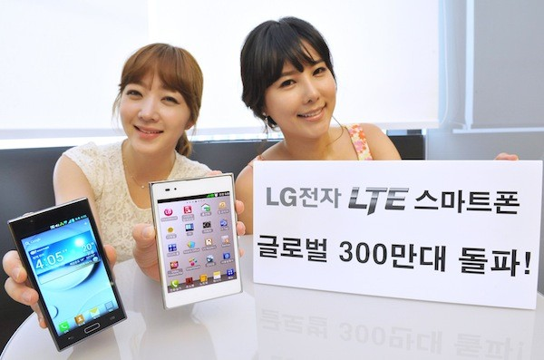 LG Three Million 4G LTE Smartphones Sold Worldwide