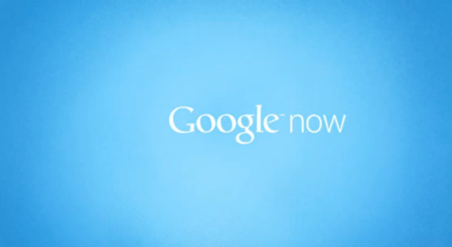 Google Now Android Update