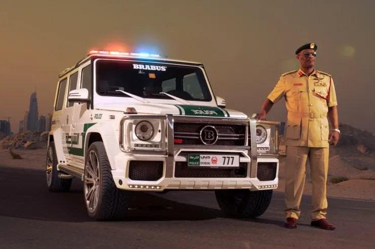 brabus-mercedes-benz-g63-amg-dubai-police-car-front-three-quarters-view