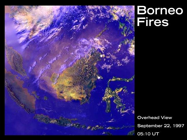 Borneo fires 1997