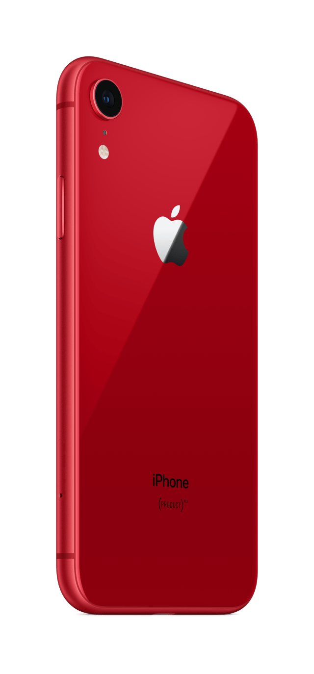 A portion of (Product)RED iPhone XR sales will be donated in the fight against AIDS.