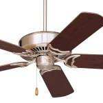 Emerson Designer Ceiling Fan Model Cf755bs In Brushed Steel