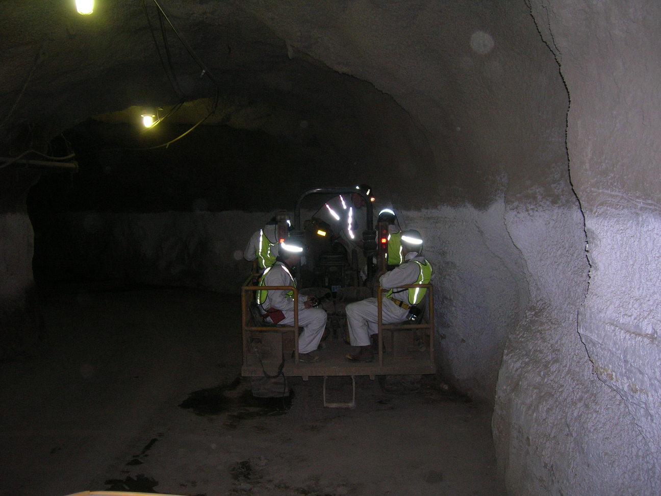 Trip To Henderson Mine December 14 2006