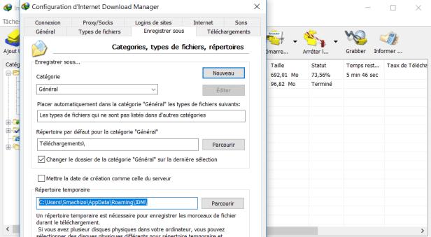 IDM Options Enregistrer Sous - Comment Lire une Vidéo en Cours de Téléchargement sur IDM avec VLC Media Player