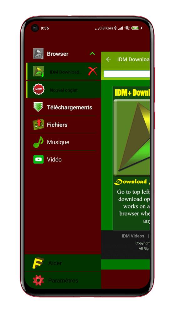 IDM Download Manager - IDM pour Android – Top 10 Gestionnaires de Téléchargement pour Android