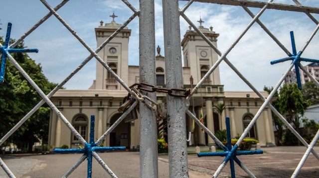 Sri Lankan churches closed in April 2019 following Easter Sunday attacks that killed more than 250 people at three churches and three luxury hotels.