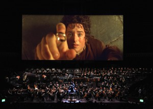 "Frodo (Elijah Wood) in ""The Lord of the Rings: The Fellowship of the Ring - In Concert"""