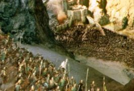 Eucatastrophe Gandalf charges Helms Deep