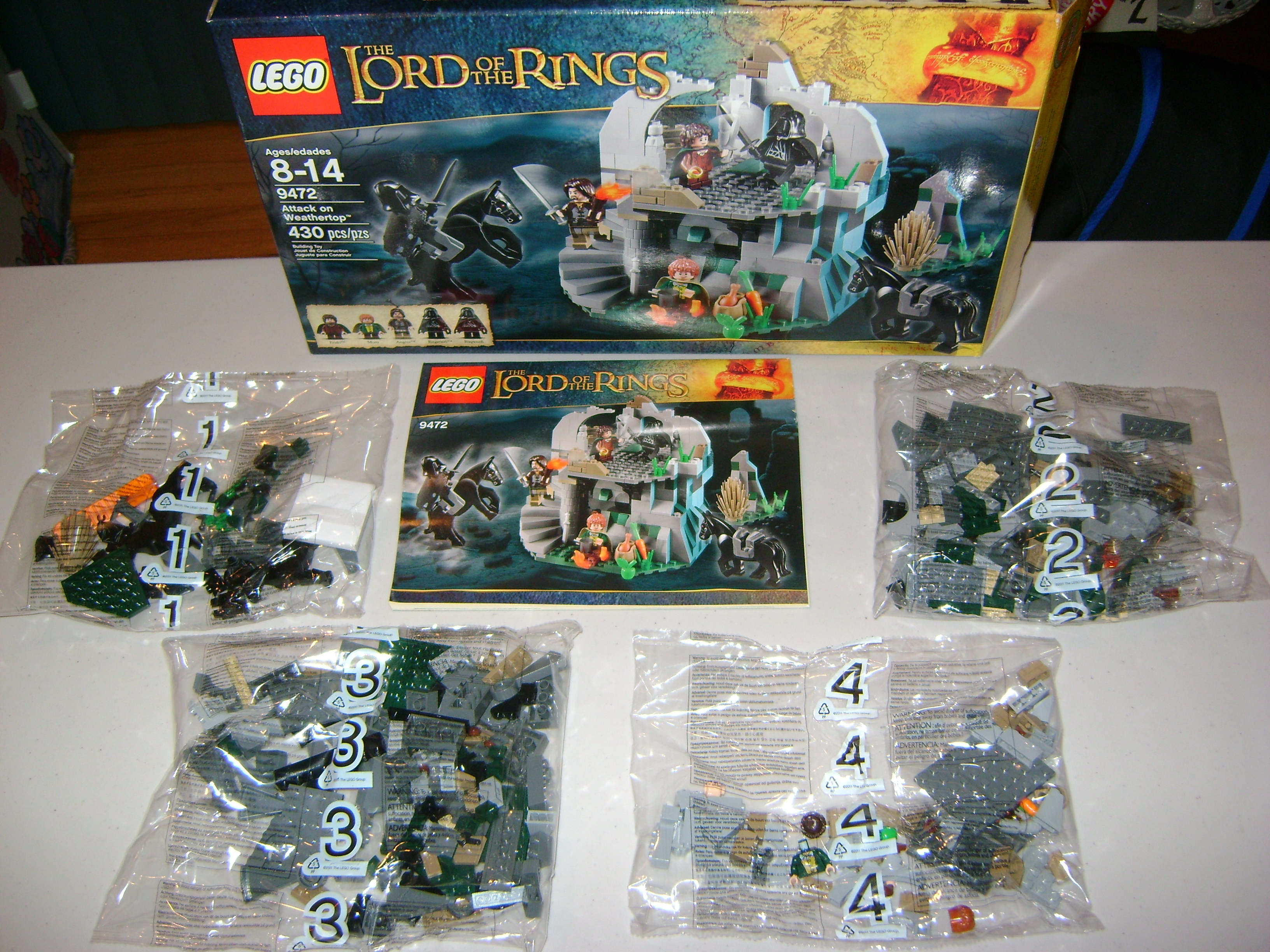 LEGO Lord of The Rings LOTR 9472 Attack on Weathertop ARAGORN Minifigure Figure