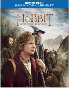 A fake DVD cover for Hobbit: An Unexpected Journey?