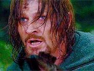 Boromir at Parth Galen