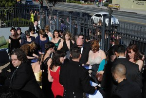Opening registration for those attending the One Expected Party in Los Angeles on Oscar night.