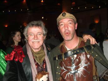 Peter And Jack Machiela Hobbit Premiere Party 2012