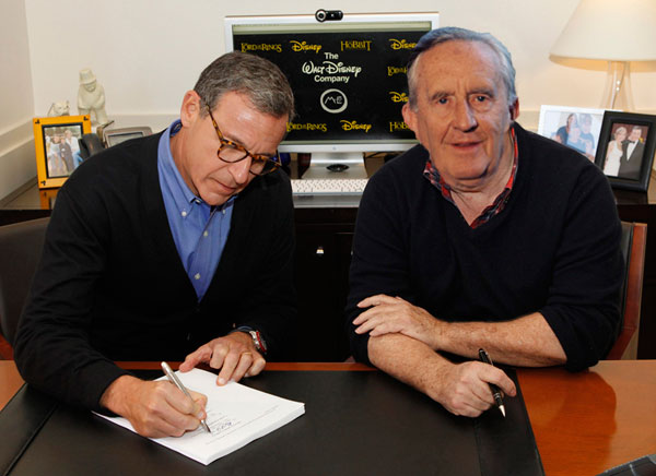 Tolkien Signs Deal with Disney