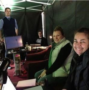 "Peter Jackson's ""Tent Crew,"" who help him make movies."
