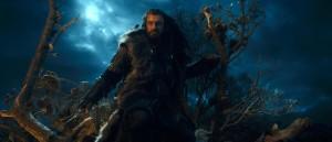 Thorin confronts Azog.