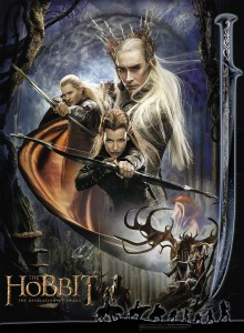 Desolation of Smaug poster artwork