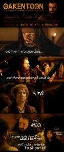 oakentoon__14__how_to_kili_a_dragon_by_peckishowl-d5r2il2